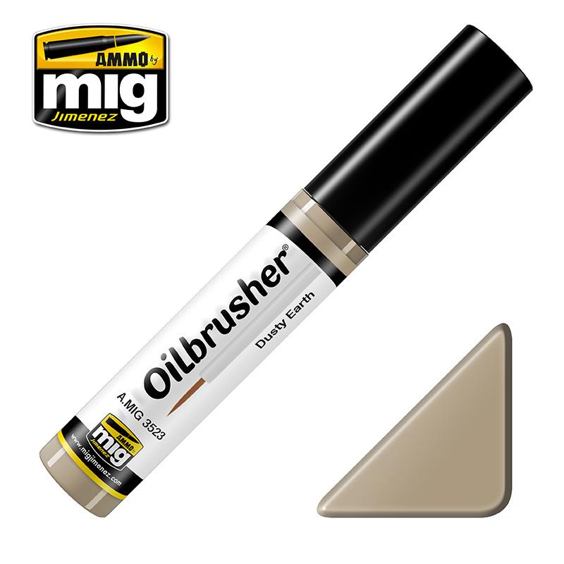 Ammo by Mig Jimenez Oilbrusher - Dusty Earth - A.MIG-3523