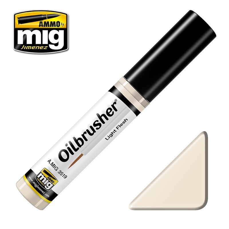 Ammo by Mig Jimenez Oilbrusher - Light Flesh - A.MIG-3519