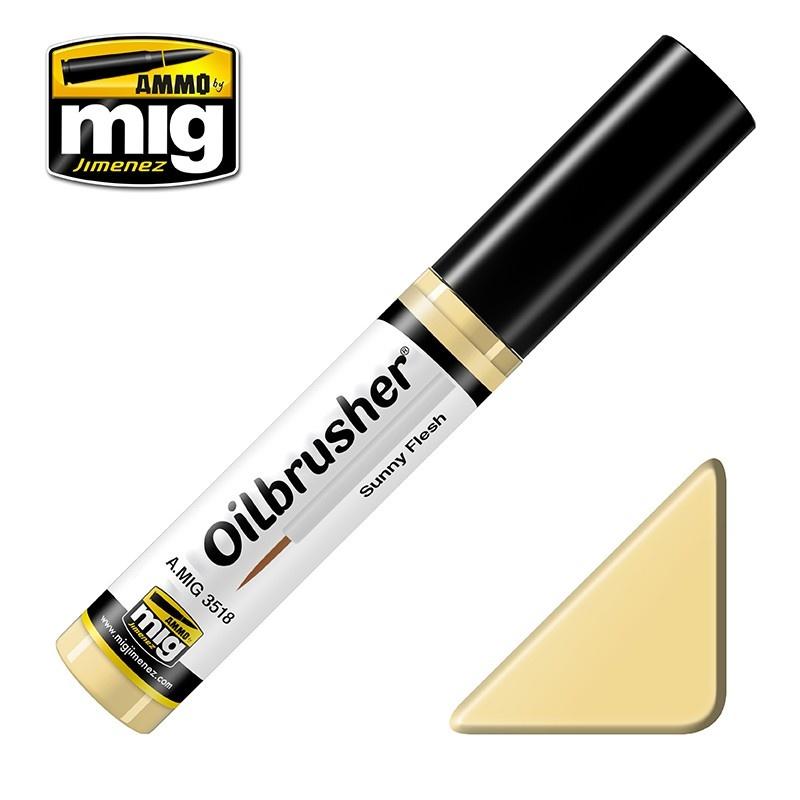 Ammo by Mig Jimenez Oilbrusher - Sunny Flesh - A.MIG-3518