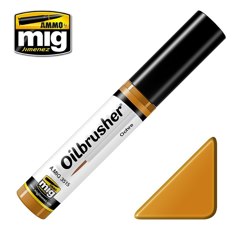 Ammo by Mig Jimenez Oilbrusher - Ochre - A.MIG-3515