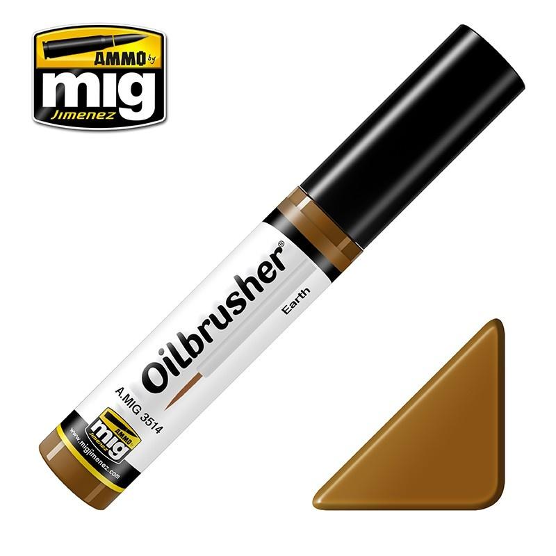 Ammo by Mig Jimenez Oilbrusher - Earth - A.MIG-3514