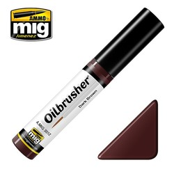 Oilbrusher - Dark Brown - A.MIG-3512