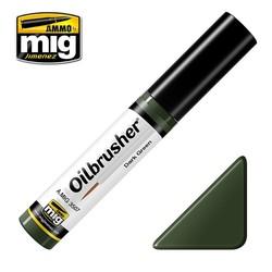 Oilbrusher - Dark Green - A.MIG-3507