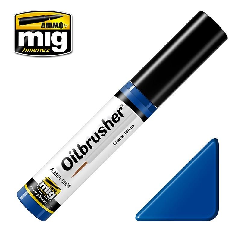 Ammo by Mig Jimenez Oilbrusher - Dark Blue - A.MIG-3504