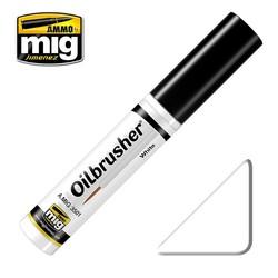 Oilbrusher - White - A.MIG-3501