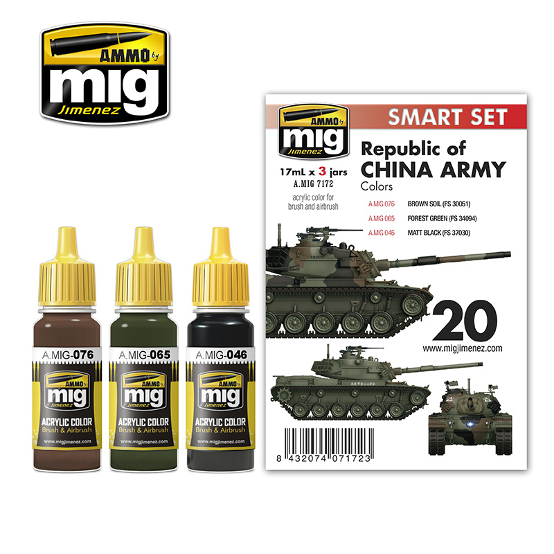 Ammo by Mig Jimenez M48H Roca (Republic Of China Army) - A.MIG-7172