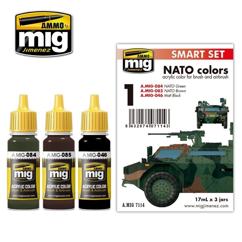 Ammo by Mig Jimenez Nato Colors - A.MIG-7114