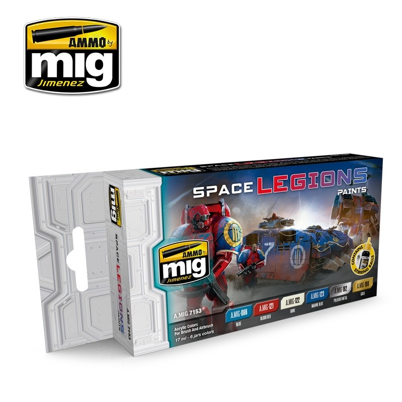 Ammo by Mig Jimenez Space Legions Color Set - A.MIG-7153