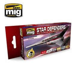 Star Defenders Sci-Fi Colors - A.MIG-7130