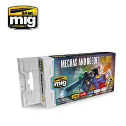 Mechas And Robots Colors - A.MIG-7127