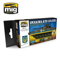 Ukraine ATO Colors - A.MIG-7125