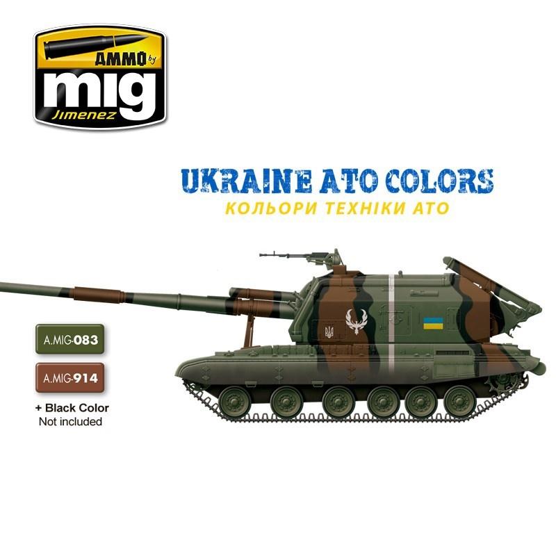 Ammo by Mig Jimenez Ukraine ATO Colors - A.MIG-7125
