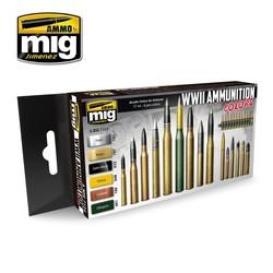 WWII Ammunition Colors - A.MIG-7124