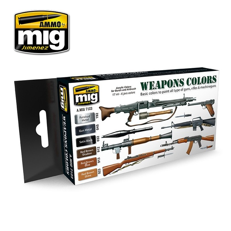 Ammo by Mig Jimenez Weapons Colors - A.MIG-7123