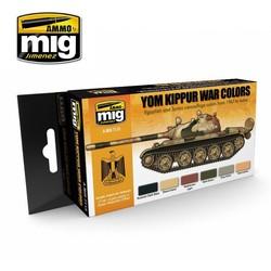 Yom Kippur War Colors - A.MIG-7113
