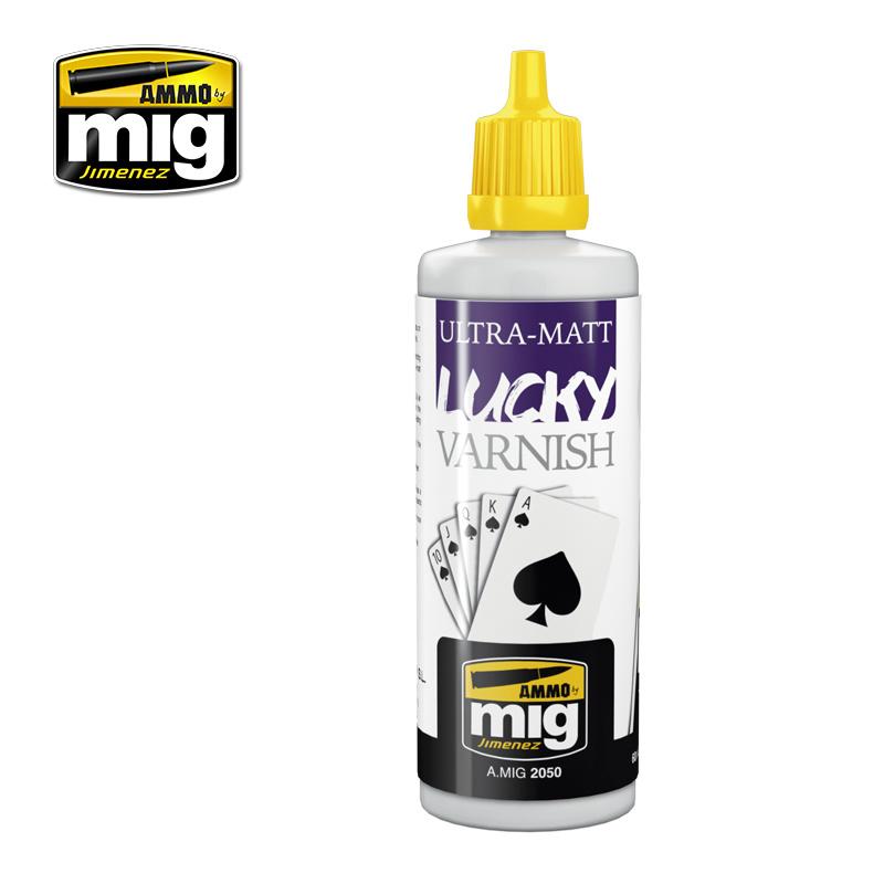 Ammo by Mig Jimenez Ultra-Matt Lucky Varnish - 60ml - A.MIG-2050