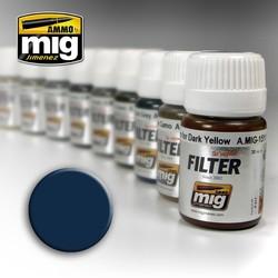 Filter - Blue For Dark Grey - 35ml - A.MIG-1509