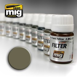 Filter - Tan For Yellow Green - 35ml - A.MIG-1507