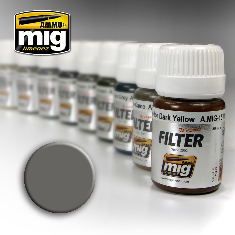 Ammo by Mig Jimenez Filter - Grey For White - 35ml - A.MIG-1501
