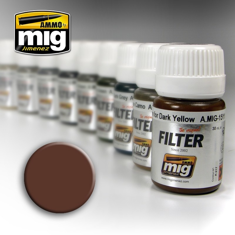 Ammo by Mig Jimenez Filter - Brown For White - 35ml - A.MIG-1500