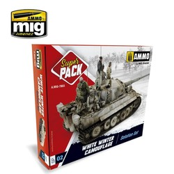 White Winter Camouflage Weathering  Super Pack - A.MIG-7803