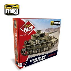 Desert & Arid Battlefields Super Pack - A.MIG-7802