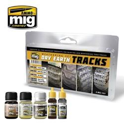 Dry Earth Tracks - A.MIG-7437