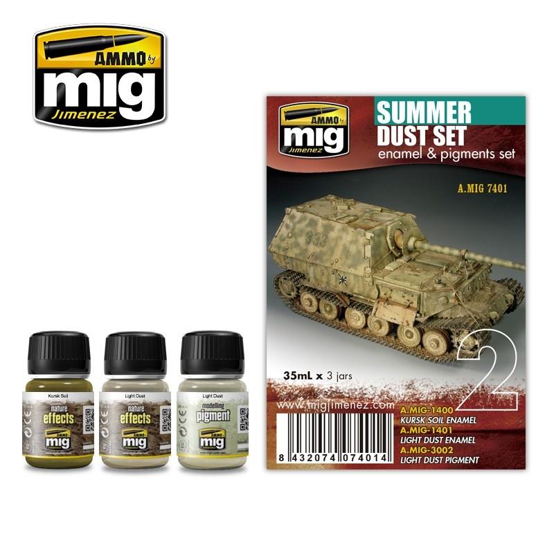 Ammo by Mig Jimenez Weathering Sets - Summer Dust Set - A.MIG-7401