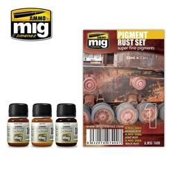 Pigment Rust Set  - A.MIG-7400