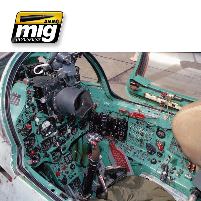Ammo by Mig Jimenez Airplane Weathering Sets - Modern Russian Cockpits - A.MIG-7435