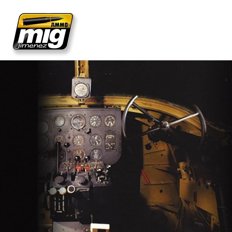 Ammo by Mig Jimenez Airplane Weathering Sets - Ww Ii Usa Interiors  - A.MIG-7434