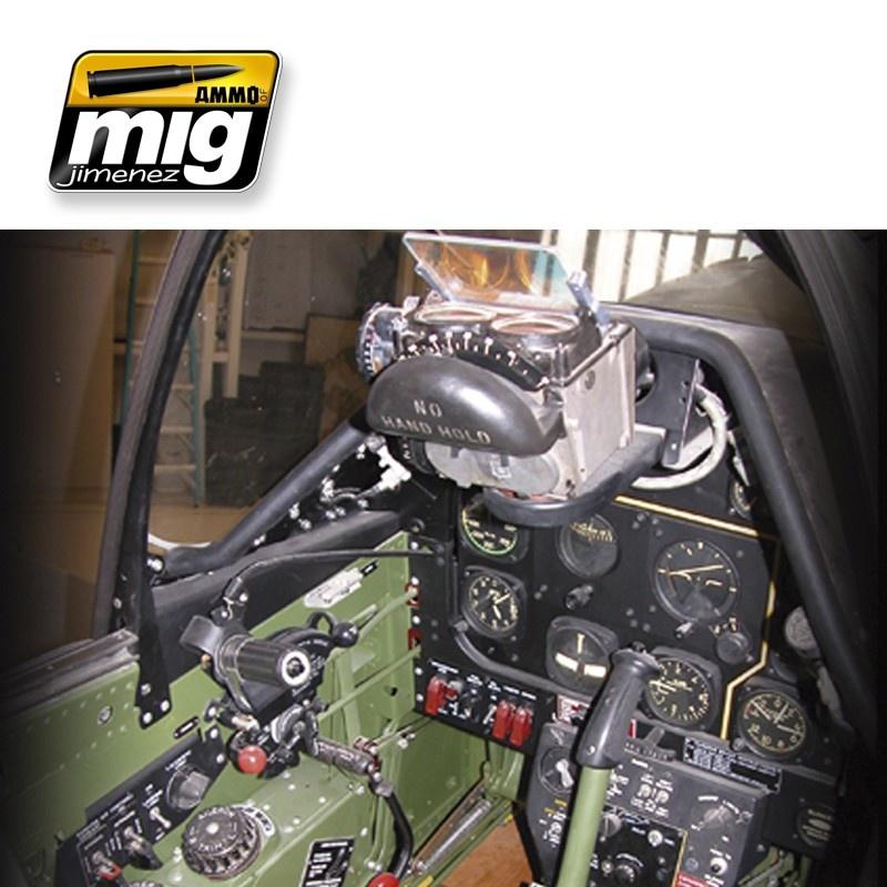 Ammo by Mig Jimenez Airplane Weathering Sets - Ww Ii Usa Cockpits - A.MIG-7433