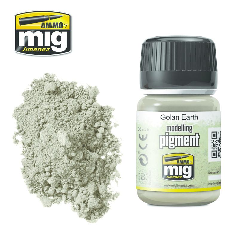 Ammo by Mig Jimenez Pigment - Golan Earth - 35ml - A.MIG-3026