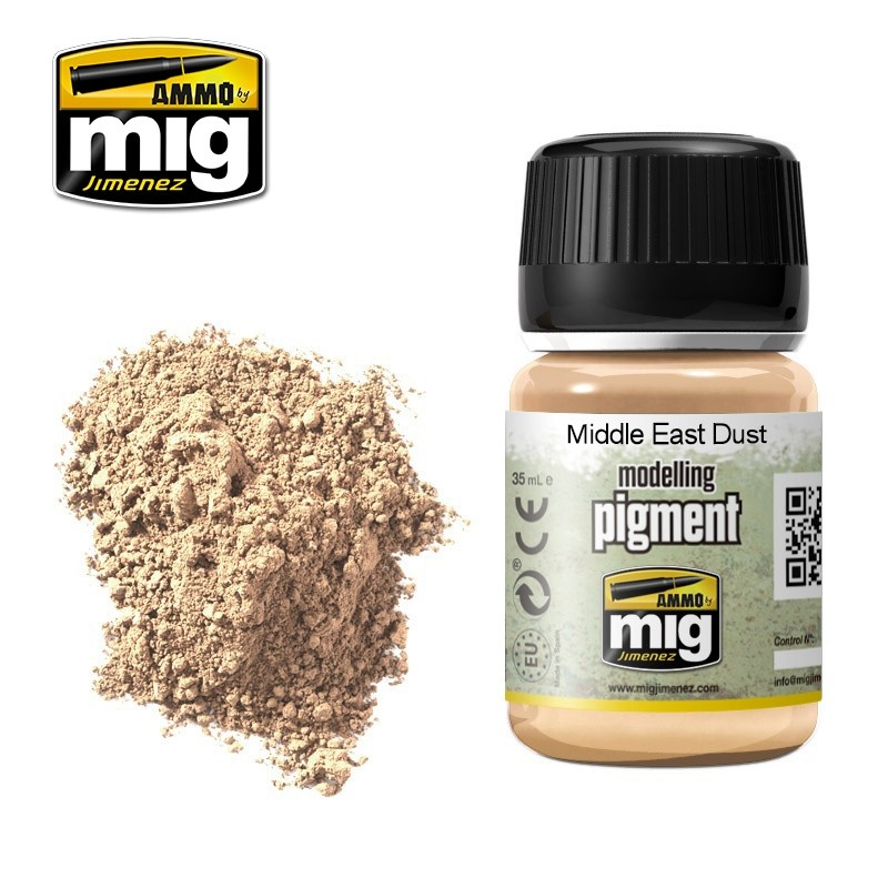 Ammo by Mig Jimenez Pigment - Middle East Dust - 35ml - A.MIG-3018