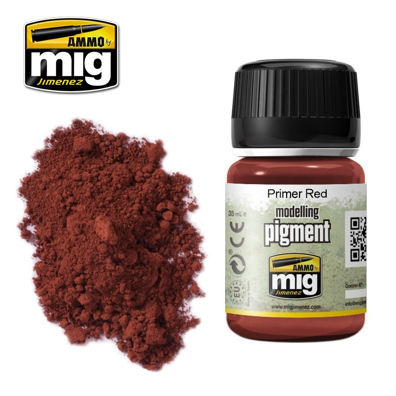 Ammo by Mig Jimenez Pigment - Primer Red - 35ml - A.MIG-3017