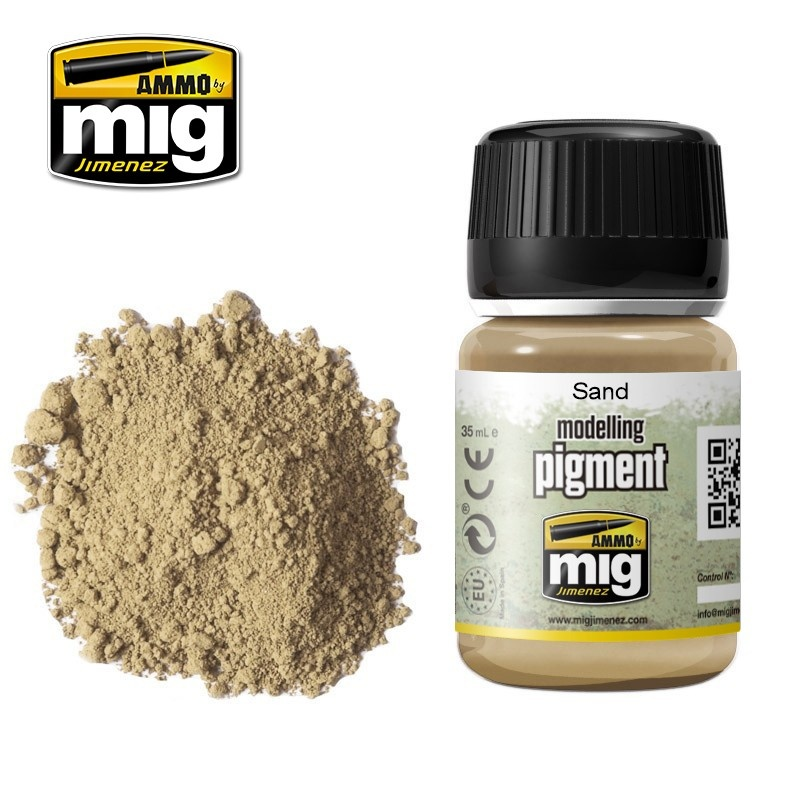 Ammo by Mig Jimenez Pigment - Sand - 35ml - A.MIG-3012