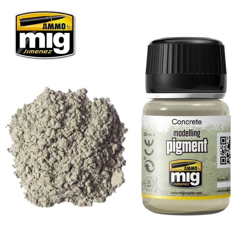 Ammo by Mig Jimenez Pigment - Concrete - 35ml - A.MIG-3010