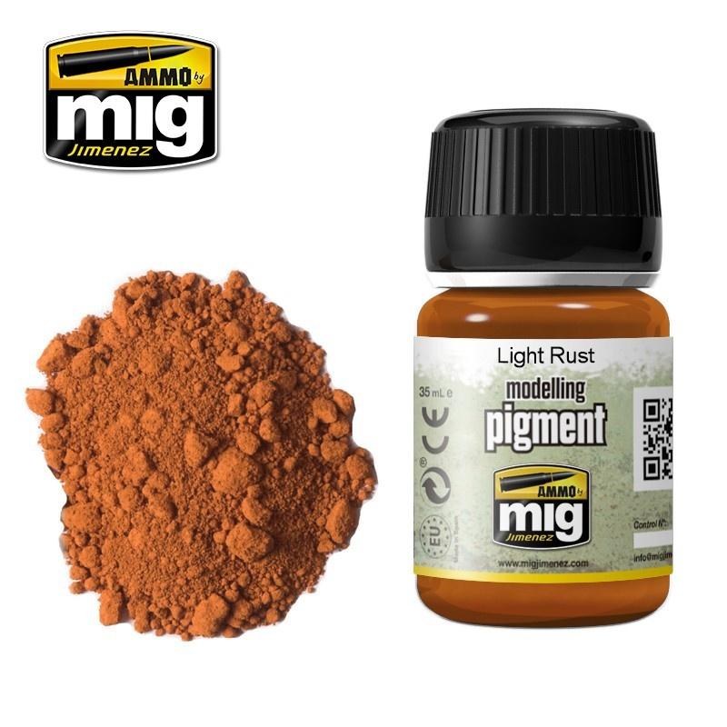 Ammo by Mig Jimenez Pigment - Light Rust - 35ml - A.MIG-3006