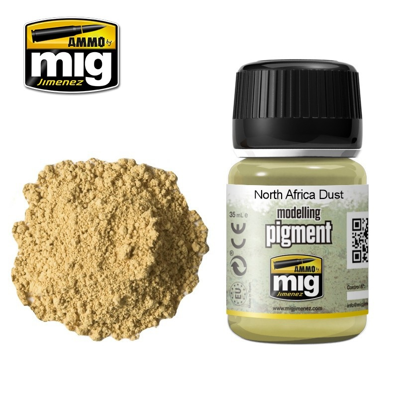Ammo by Mig Jimenez Pigment - North Africa Dust - 35ml - A.MIG-3003