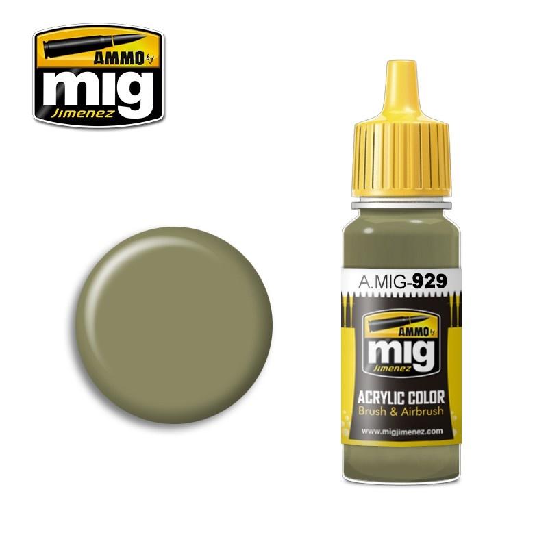 Ammo by Mig Jimenez Modulation Series - Olive Drab Shine - 17ml - A.MIG-0929