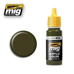 Olive Drab Dark Base - 17ml - A.MIG-0925