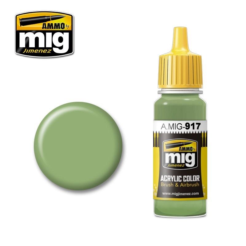 Ammo by Mig Jimenez Modulation Series - Light Green - 17ml - A.MIG-0917