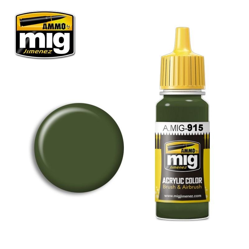 Ammo by Mig Jimenez Modulation Series - Dark Green - 17ml - A.MIG-0915