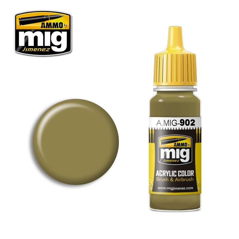 Ammo by Mig Jimenez Modulation Series - Dunkelgelb Base - 17ml - A.MIG-0902