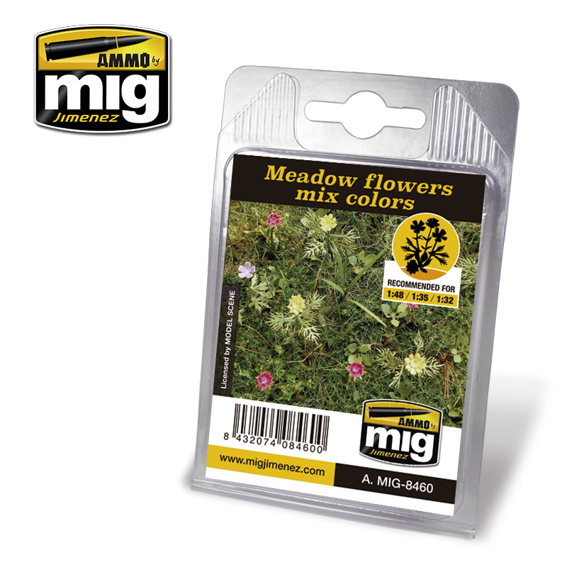 Ammo by Mig Jimenez Diorama Series - Meadow Flowers Mix Colors - A.MIG-8460
