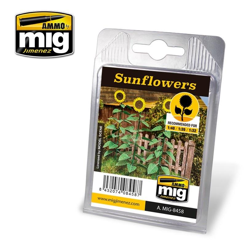Ammo by Mig Jimenez Diorama Series - Sunflowers - A.MIG-8458