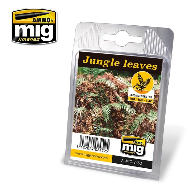 Ammo by Mig Jimenez Diorama Series - Jungle Leaves - A.MIG-8452