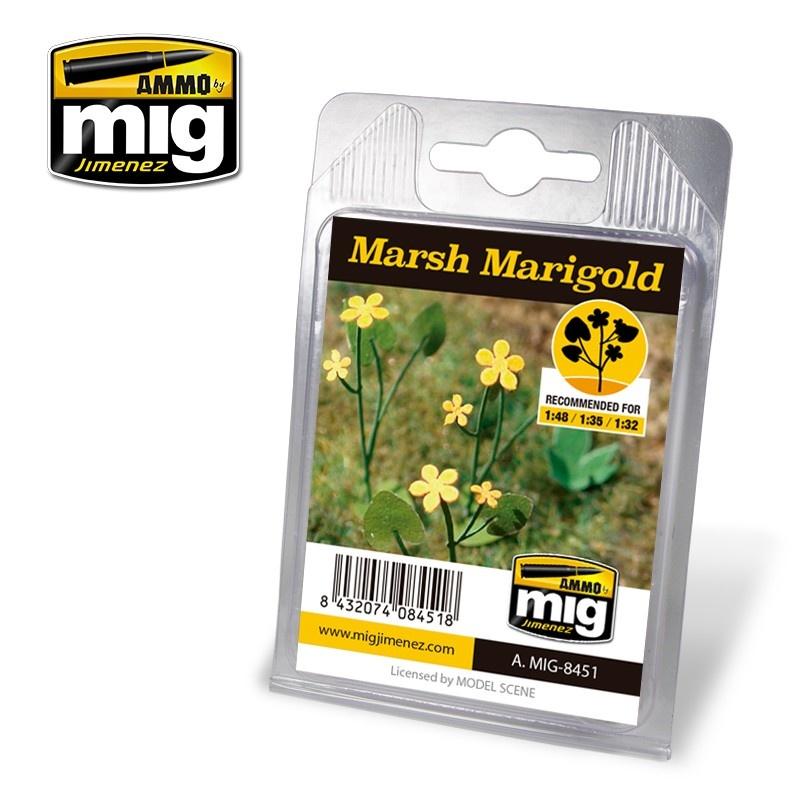 Ammo by Mig Jimenez Diorama Series - Marsh Marigold - A.MIG-8451