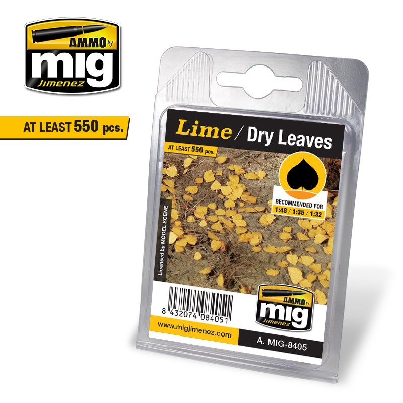 Ammo by Mig Jimenez Diorama Series - Lime - Dry Leaves - A.MIG-8405
