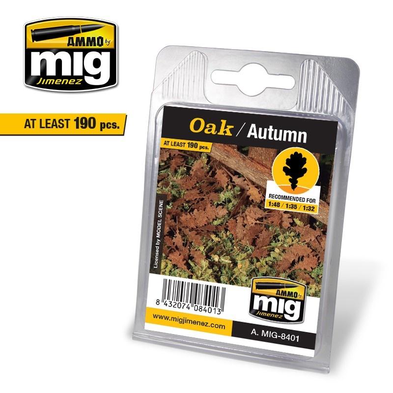 Ammo by Mig Jimenez Diorama Series - Oak - Autumn - A.MIG-8401